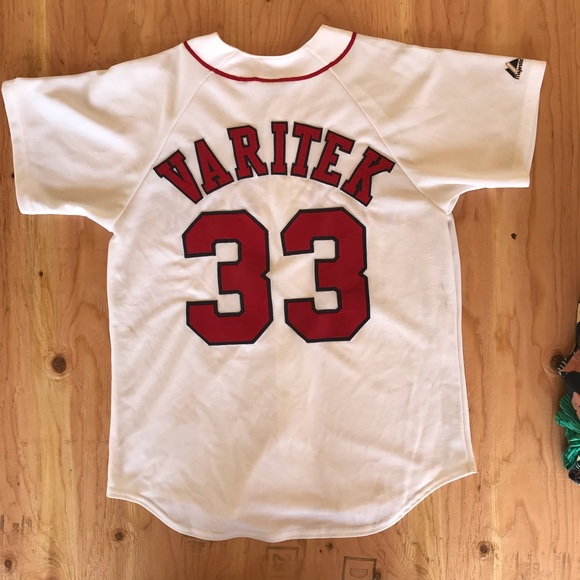 cba7d9a47 Majestic Other - Vintage Boston Red Sox Authentic Varitek Jersey 33